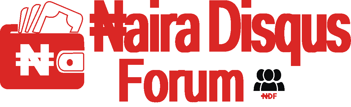 Naira Disqus Forum - Join  The Best News and Discussion Forum Today