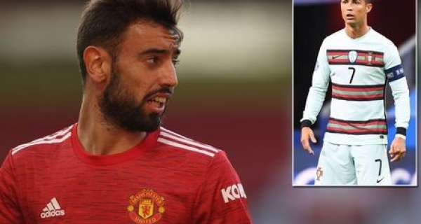 Bruno Fernandes could be forced to miss four Man Utd matches due to Covid-19 quarantine rules Image