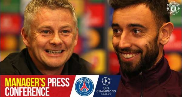 Video: Bruno to captain United in Paris | Press Conference | PSG v Manchester United | Champions League