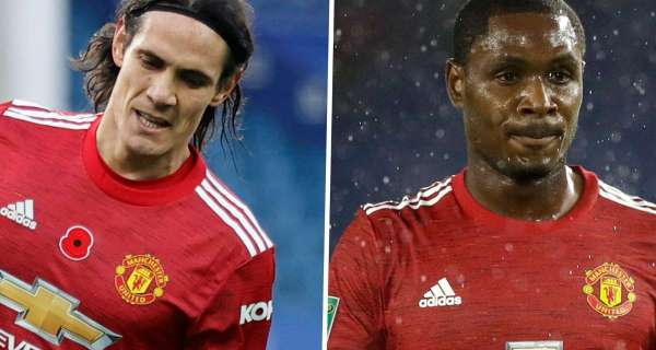 Cavani strike pushes Ighalo further into Man United shadows