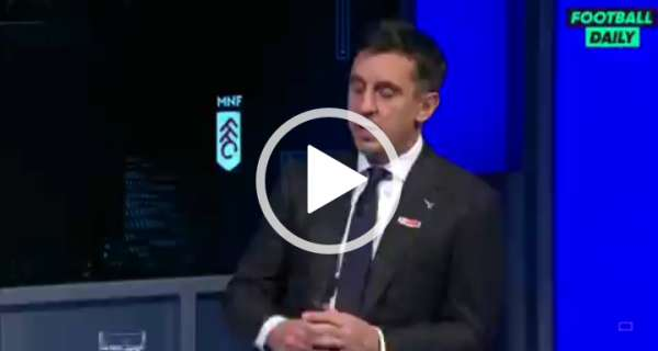 Video: Gary Neville calls for compulsory diversity education after Cavani Instagram post Image