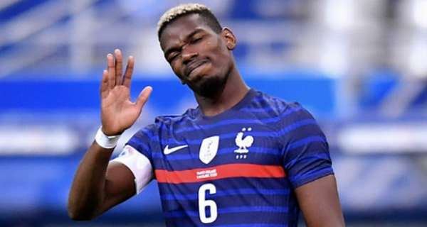 Paul Pogba's performance and body language for France is alarming for Man Utd